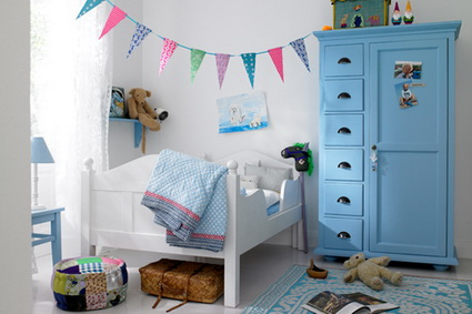 Pennants in children's bedrooms 1