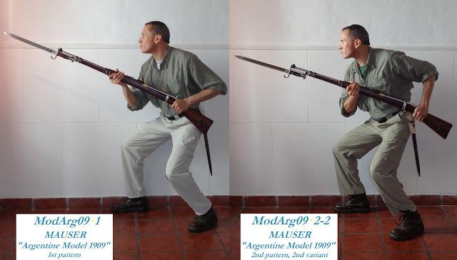 MAUSER Argentine Model 1909 1st  pattern (Solingen) saber-bayonet