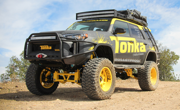 Toyota 4Runner New - It's a Tonka Toyota! We Drive Tonka's