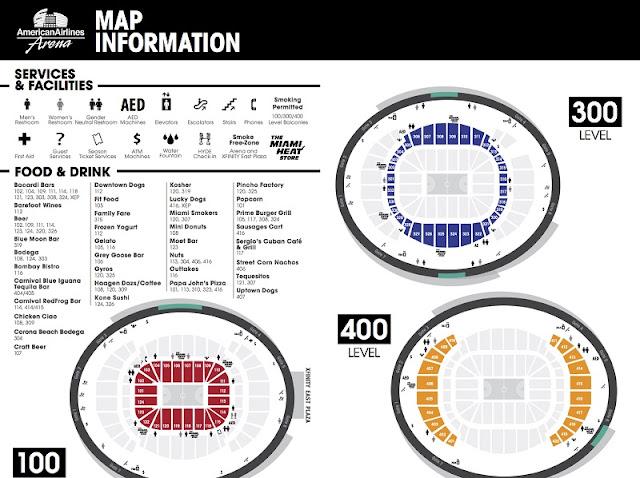 Ingressos de jogos no American Airlines Arena em Miami