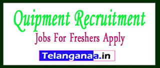 Quipment Recruitment 2017 Jobs For Freshers Apply