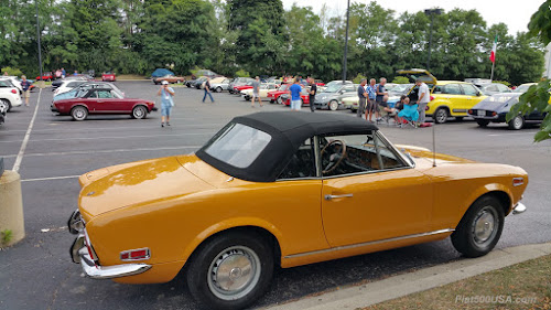 Classic Fiat 124 Spider Convertible Top