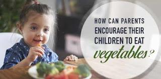 anak Makan Sayuran