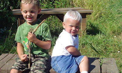 7 Ways to be a Good Elder Brother kids children playing boys young