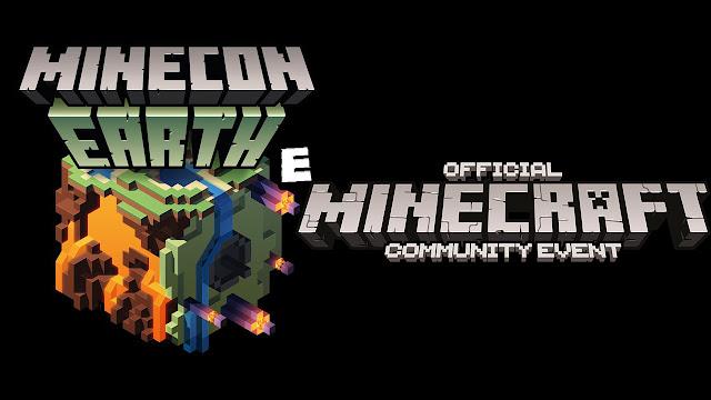 Logo: Minecraft EARTH e Minecraft: Evento oficial da Comunidade