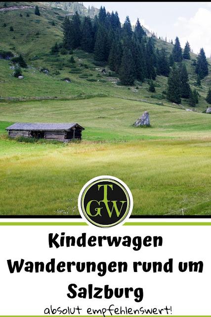 Wandern mit dem Kinderwagen rund um Salzburg | Ausflugsziele | Tipps und Empfehlungen #kinderwagen #wandern #ausflug #salzburg #topfgartenwelt