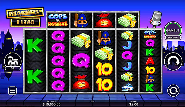 Main Gratis Slot Indonesia - Cops n Robbers Megaways Inspired Gaming