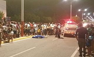 CARREATA POLÍTICA DE CANDIDATO TERMINA EM TIROTEIO E JOVEM É MORTO.
