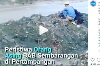 Viral Video TKA China BAB Sembarangan di Lokasi Tambang Halsel