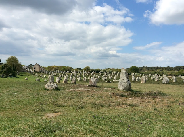 Renovation project. Carnac Stones. jennyandjohninfrance