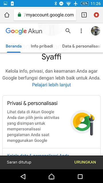 Cara Membuat Kata Sandi Baru Akun Google