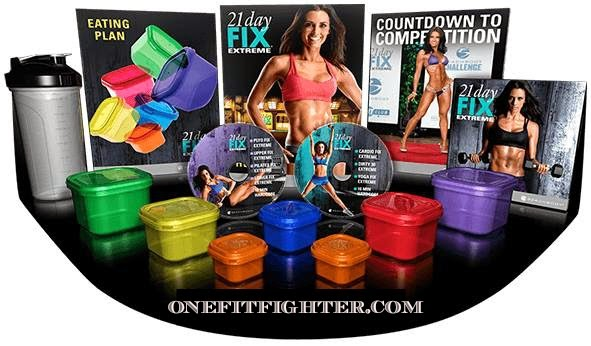 what is the 21 day fix extreme, fix extreme test group