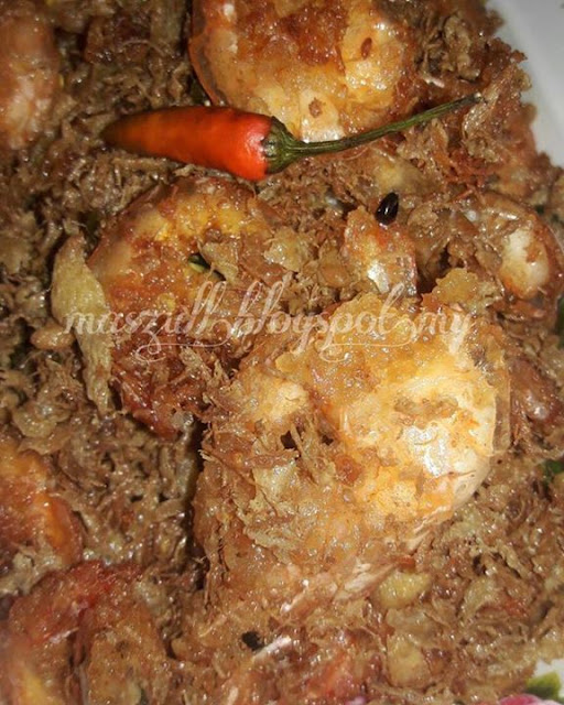 Resepi Butter Prawn Simple