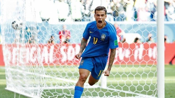 Philippe Coutinho e Neymar marcam nos acréscimos e Brasil vence a Costa Rica