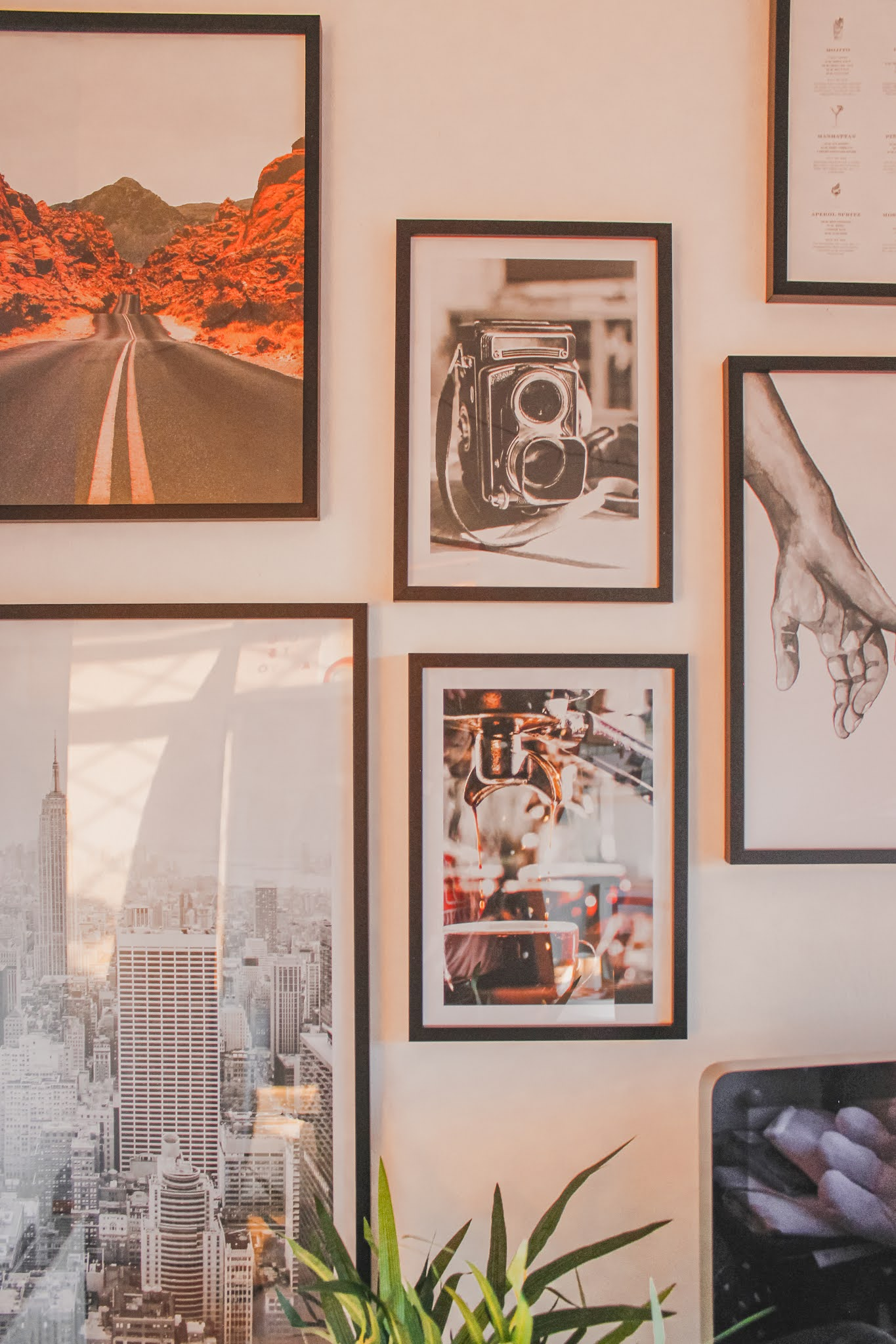 Office Makeover w/ Poster Store - Sarahlaublogs