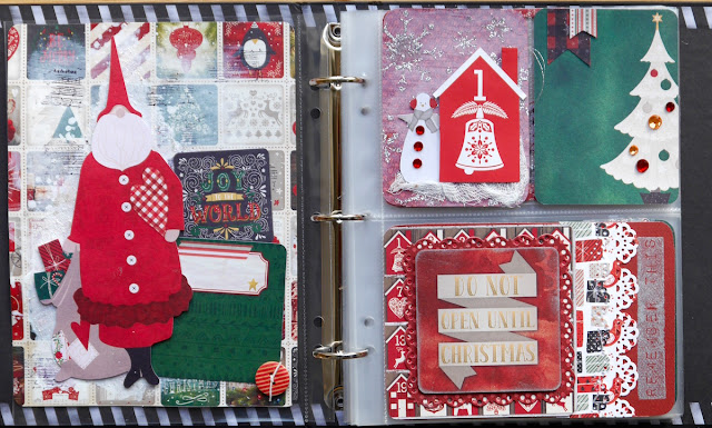 May your Christmas be Merry Misc Me by Katherine Sutton using BoBunny Merry and Bright