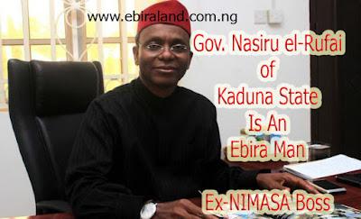 Governor  Nasir El-Rufai Of Kaduna is An Ebira from Kogi State