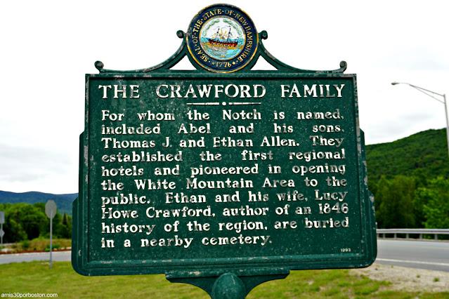 Placa Histórica sobre la Familia Crawford en la Estación de la Base