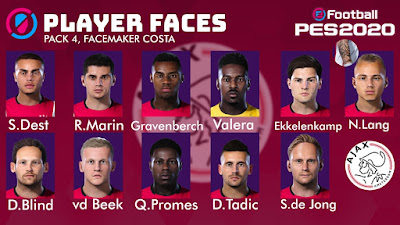PES 2020 Facepack V4 by Costa