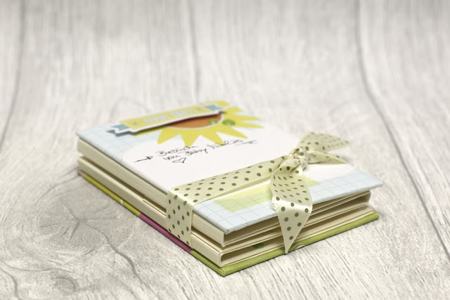 Minibook mit dem danipeuss.de Augustkit