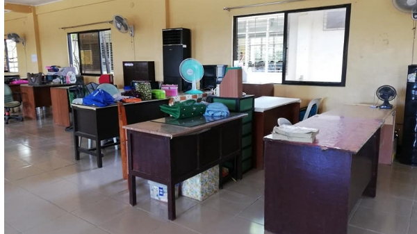 Teachers from Bacoor finally get new faculty room