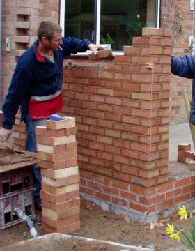 El maestro de obras xavier valderas construir paredes y muros - Bloques para muros ...