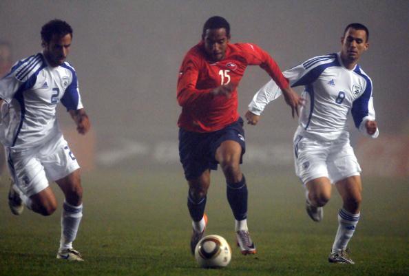 Chile e Israel en partido amistoso, 30 de mayo de 2010