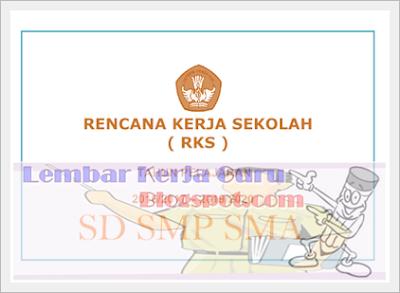 RKS Rencana Kerja Sekolah Lengkap