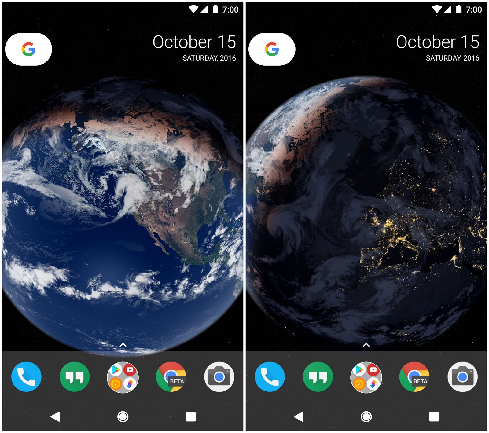 live wallpaper locations included in this app