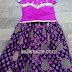 Black and Purple Lehenga