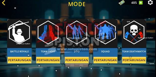 Game Yang Mirip PUBG Offline: Battle Royale Fire Force Free