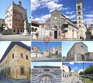 Mosaico - immagini - attrazioni turistiche - centro storico di Prato