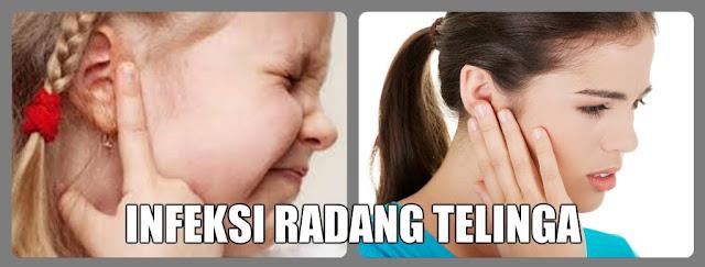 Obat Congek Infeksi Radang Telinga Bengkak