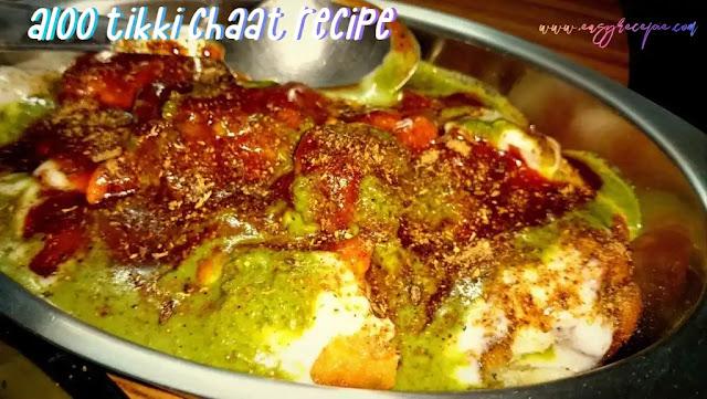 Delicious Aloo Tikki chaat recipe makes at home