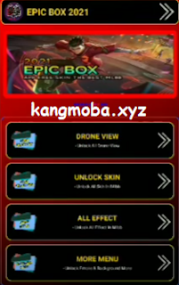 APK MOD Epic Box 2021 Injector v1.2 Unlock All Skin + Battle Emote Full Sound Patch Terbaru