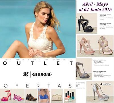 catalogo andrea outlet mayo 2016
