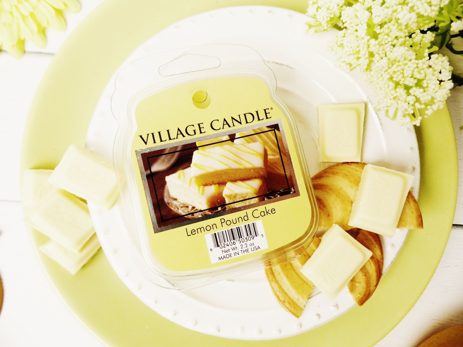 lemon pound cake village candle wosk recenzja