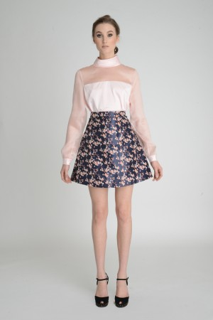 A simple top and skirt