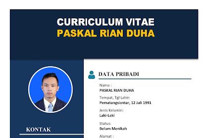 Download CV (Curriculum Vitae) Format Word (DOC) Kreatif Menerik Perhatian HRD
