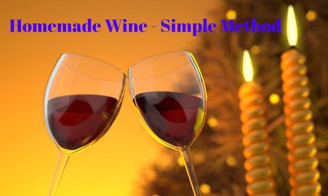 Homemade wine for Christmas