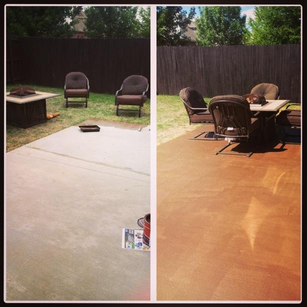 Sullivan Steals: DIY Stain Concrete