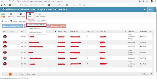 Segera Ajukan Pengusulan NUPTK Melalui Situs Verval PTK Online Mulai Saat ini. Berikut Tips nya
