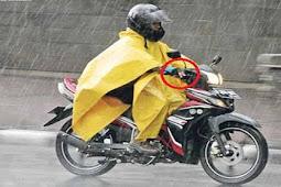 Trik Berkendara Kala Musim Hujan, Ini Cara Yang Aman Untuk Mengerem