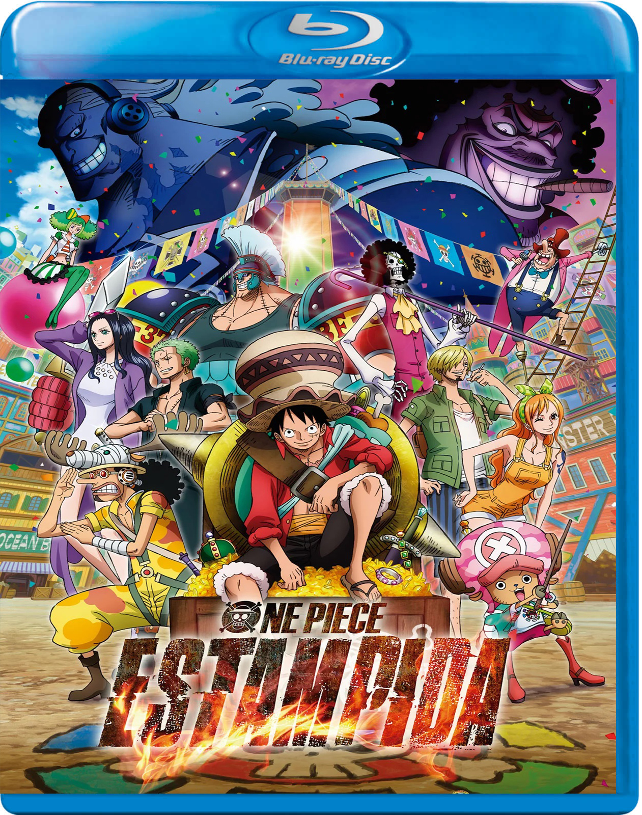 One Piece: Stampede [2019] [BD25] [Castellano Sub: Latino]