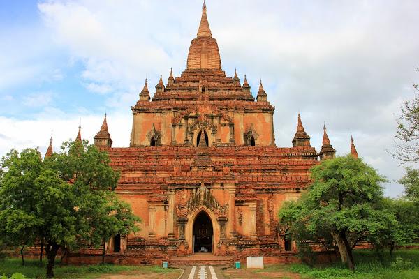 Templo Sulamani en Bagan - Myanmar