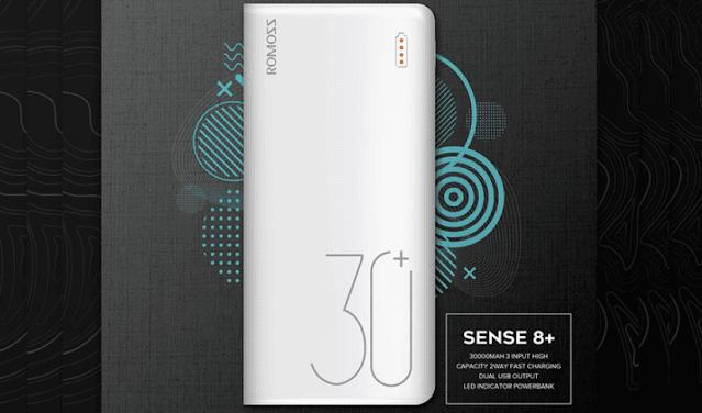 ROMOSS Sense 8 Plus 30000mAh Power Bank
