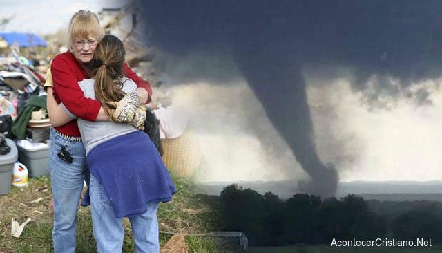 Niñas sobreviven a tornado