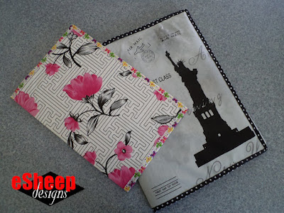 Waxcloth Folders by eSheep Designs