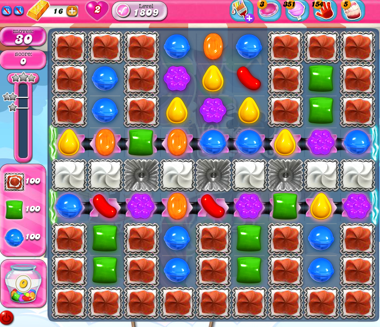 Candy Crush Saga 1809