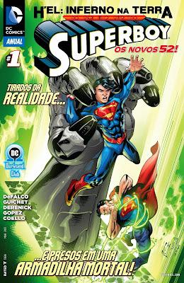 Resultado de imagem para superboy anual # 01